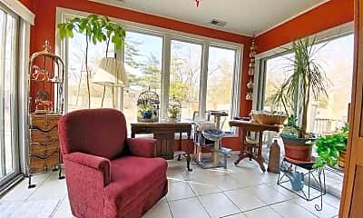 Living Room, 1444 W. 19th Terr., 1