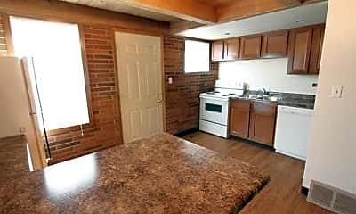Kitchen, Dakota Commercial Apartments, 0