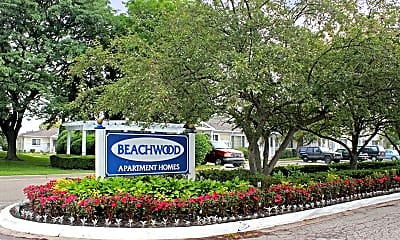 Community Signage, Beachwood Townhomes and Apartments, 1