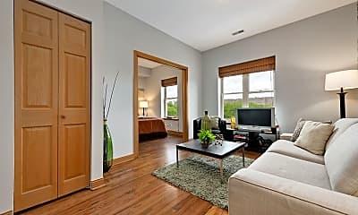 Living Room, 1167 E 61st St, 1