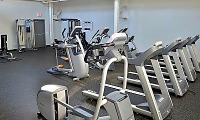 Fitness Weight Room, Hatboro Lofts, 2