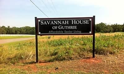 Savannah House Of Guthrie, 1