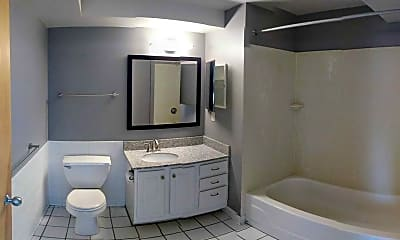 Bathroom, The Metro Apartments, 2