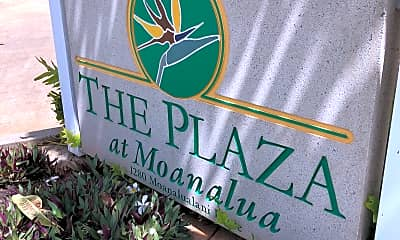 THE PLAZA AT MOANALUA, 1