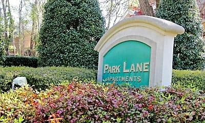 Community Signage, Park Lane, 2