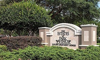 Community Signage, The Estates At Park Avenue, 2