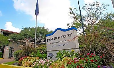 Community Signage, Harvard Square/Princeton Court, 0