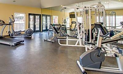 Fitness Weight Room, Villas Of Josey Ranch, 2