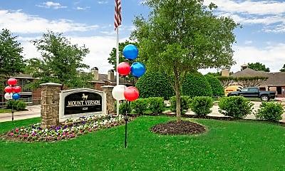 Community Signage, Mount Vernon Apartments, 2