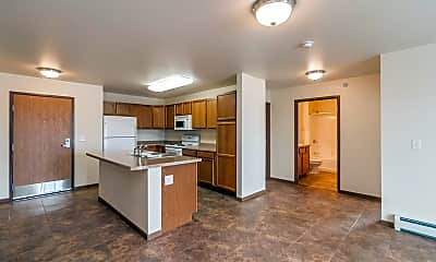 Kitchen, Patterson Heights Apartments, 1