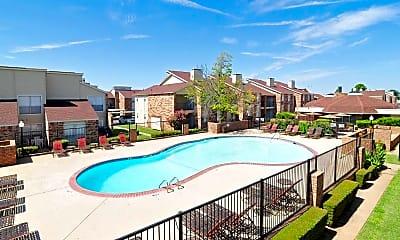 Pool, Fountaingate Apartments, 1