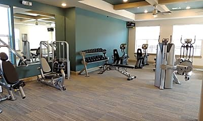 Fitness Weight Room, The Parc at Bentonville, 1