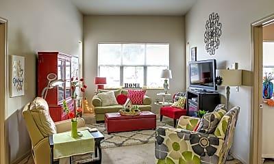 Living Room, City Center Apartments Senior Living, 1