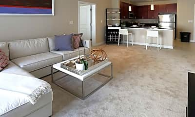 Living Room, The Galaxy Apartments, 1