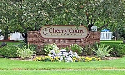 Community Signage, Cherry Court Apartments, 2