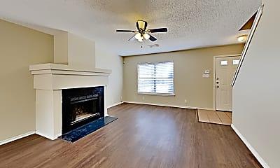 Living Room, 9217 Village Brown, 1