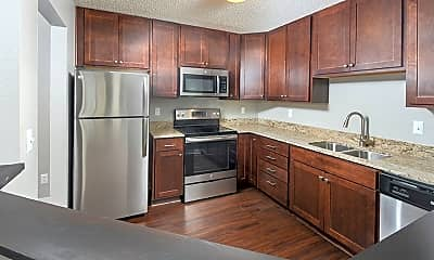 Kitchen, White Bear Woods Apartments, 0