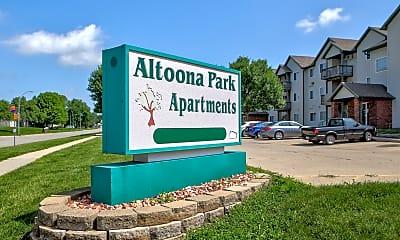 Community Signage, Altoona Park Apartments, 2
