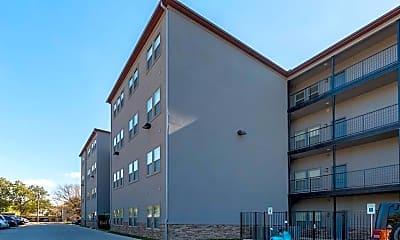 Building, 11th Street Flats, 1