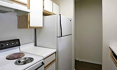 Kitchen, Black Oak Apartments, 1