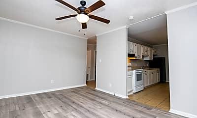 Living Room, 1110 Clark St, 1