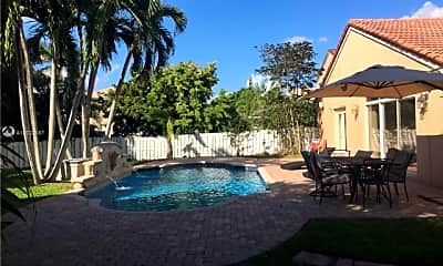 Pool, 346 SW 191st Terrace, 0