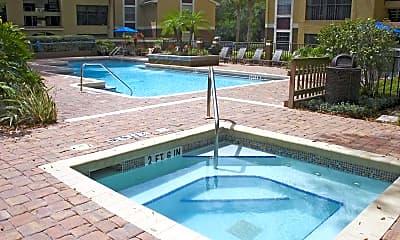 Pool, Hidden Palms, 2