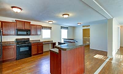 Kitchen, Country View, 0