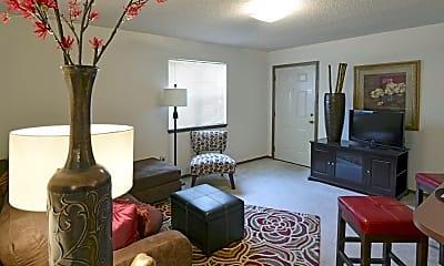 Living Room, The Fairways At Lost Springs, 1