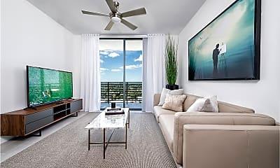 Living Room, 416 SW 1st Ave 811, 0