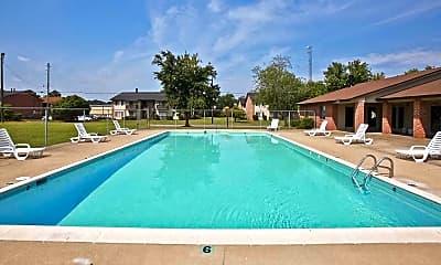 Pool, Eastdale Apartments, 1
