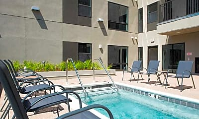 Pool, Evolve Apartments, 1