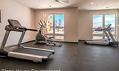 Fitness Weight Room, Tailor Place, 2