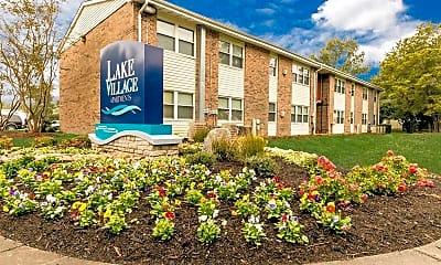Community Signage, Lake Village, 1