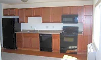 Kitchen, Springbrook Apartments, 2