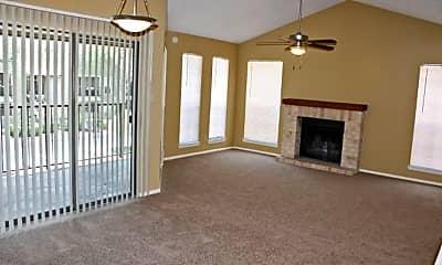 Living Room, Towering Oaks, 0