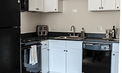 Kitchen, Audubon Manor Apartments, 0