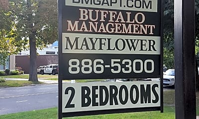 Mayflower Apartments, 1