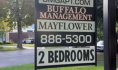 Mayflower Apartments, 1