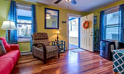 Living Room, 31 Atlantic Ave 1W, 1