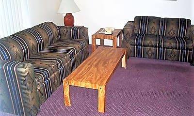 Living Room, Silver Creek Apartments, 2