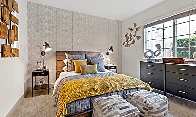 Bedroom, The Franciscan Apartments, 2