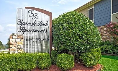 Community Signage, Spanish Rock Apartments, 2