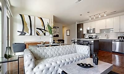 Living Room, 299 North Highland Avenue Northeast 3041, 0