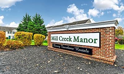Community Signage, Mill Creek Manor, 2