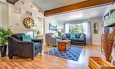 Living Room, 2018 Oak Way, 0