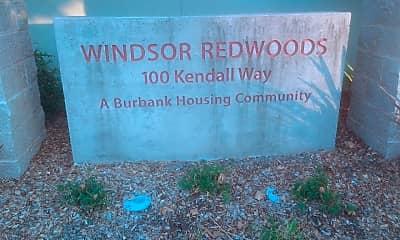 Windsor Redwoods, 1