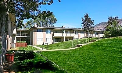 Landscaping, Bonne Villa Apartments, 1