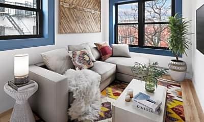 Living Room, 394 Quincy St, 1