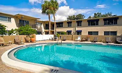 Pool, Nautica Apartments, 0